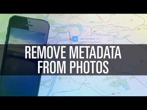 How To Remove Metadata From Photos