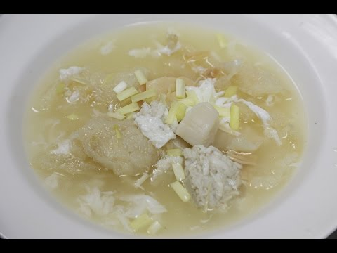 Fish Maw Soup with Crab Meat 鱼膘羹
