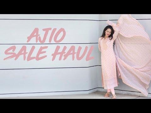 AJIO.COM'S BIRTHDAY SALE HAUL   AAKRITI RANA GILL