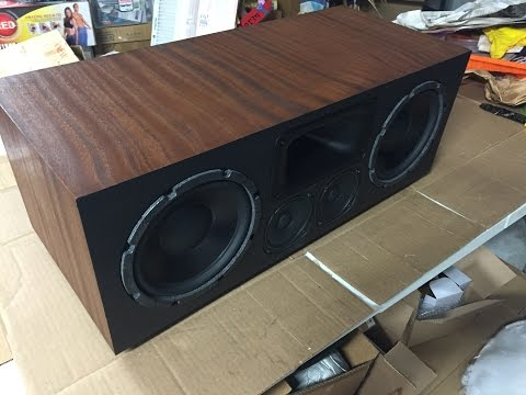 Home Theater Speakers - DIY Speaker Build