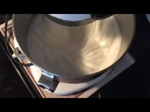 How to prepare a stable Meringue for chiffon Cake