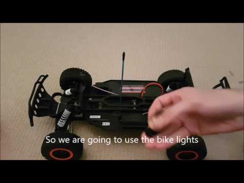How to put  LEDs on your a RC car