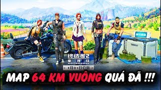"""PUBG Mobile"" Rules of Survival - Map khủng 64KM cùng ae Việt Nam"