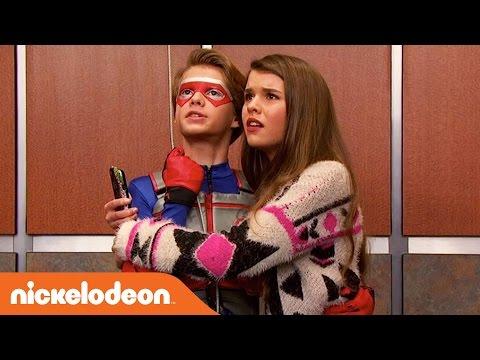 Henry Danger   Elevator Kiss 💋   Nick