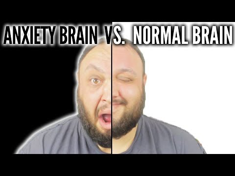 ANXIETY BRAIN VS.  NORMAL BRAIN (The Science of Anxiety)