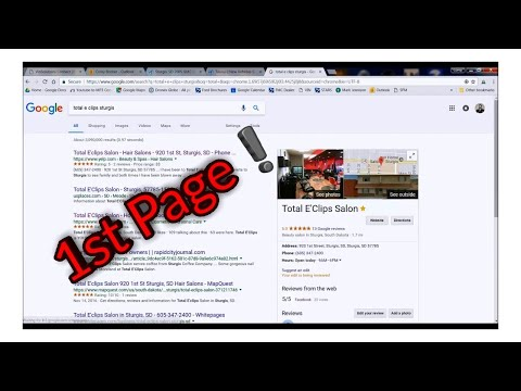 🔥 How to get your Business on the First Page of Google in the Top Results (Places for Google)🔥