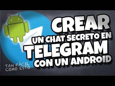Cómo abrir un chat secreto con Telegram en tu Android