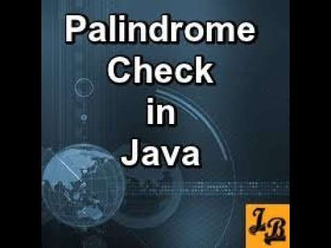 Write a java program to check number is palindrome or not?