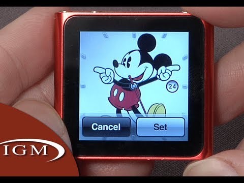 iPod nano 6G Update adds clocks, Nike+, large icons (Review)
