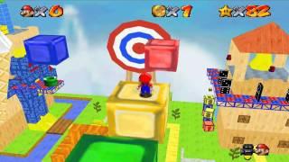 Hack rom) Mario64 ~Super Mario STAR ROAD~ Tool-Assisted