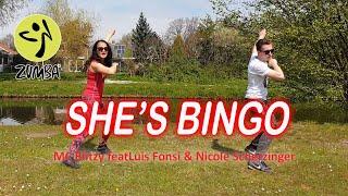 Zumba   She's Bingo - MC Blitzy feat Luis Fonsi & Nicole Scherzinger   Easy Zumba Dance workout