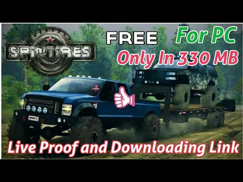 (330 MB) How To Download And Install Spintires Game For PC | Free In Less Size | 2018