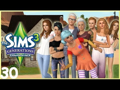 Let's Play: The Sims 3 Generations - (Part 30) - The Sleepover!