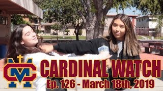 Cardinal Watch: ep. 126 - March 18th, 2019