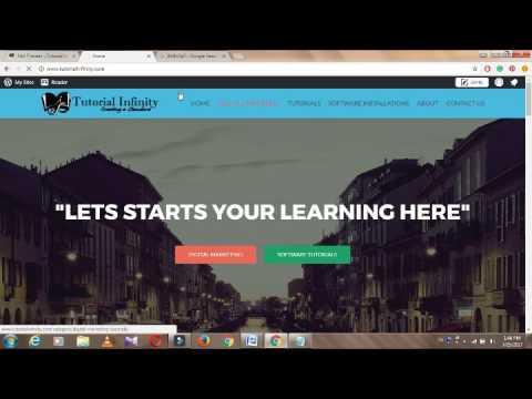 How to change header background  color in WordPress (Navigation Bar)