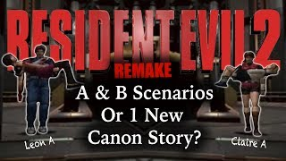 Resident Evil 2 Remake Theory | New Scenarios? Fixing Canon? | ARE MORE CHANGES COMING?