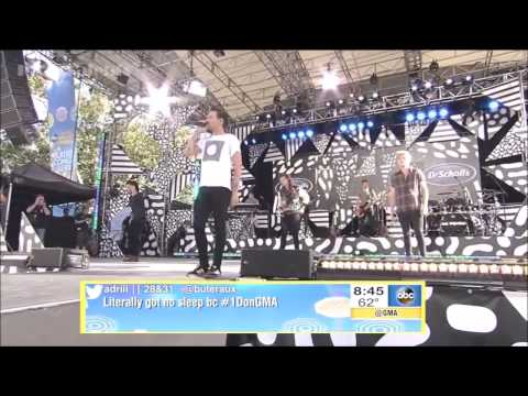 One Direction Full Concert + Interview On GMA 2015