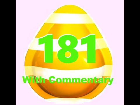 Candy Crush Saga level 181 with commentary