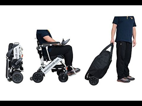 Foldable Wheelchair | Foldawheel PW-999UL with Travel Bag Review