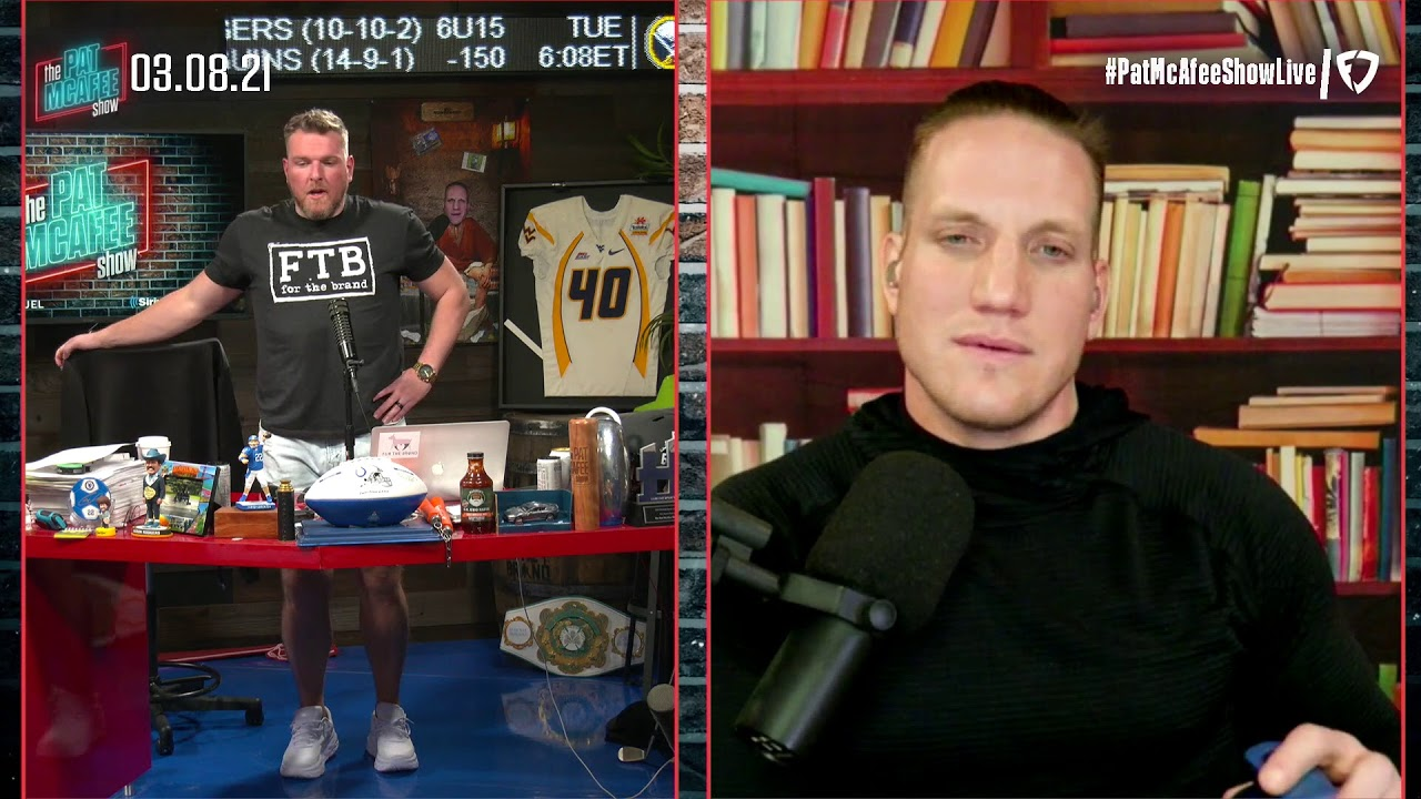 The Pat McAfee Show   Monday March 8th, 2021
