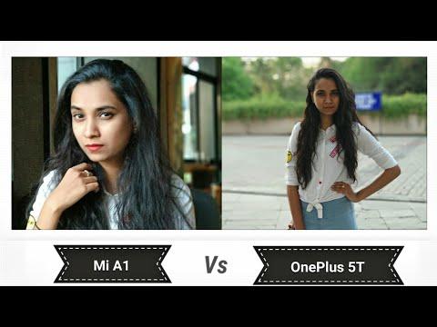 Mi A1 vs One Plus 5T Camera Pictures Comparison