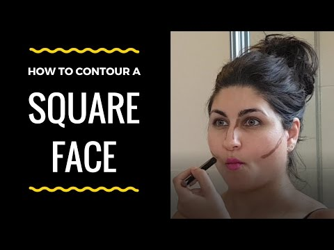 Does it work? Smashbox Contour Stick Trio Instructions for Square Face Shape
