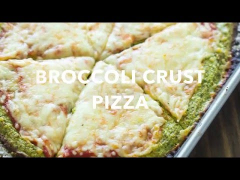 How To: Broccoli Crust pizza