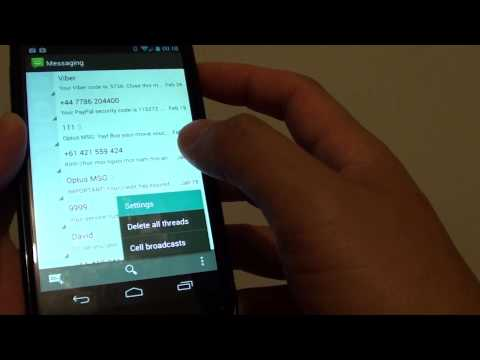 Google Nexus 4: How to Set MP3 Song as Notification Ringtone  For Messaging App