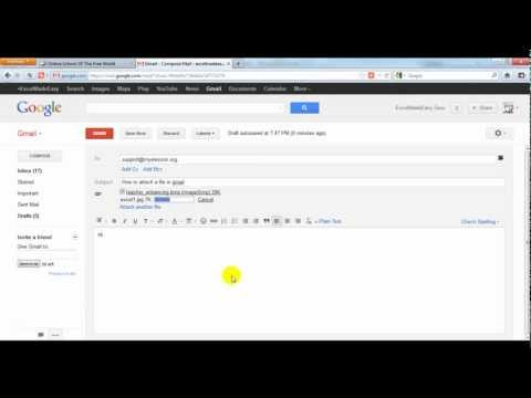 Send a Picture - File with Gmail (Hindi)