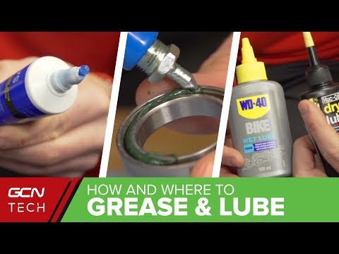 Grease, Lubricant, Threadlock, Fibregrip: What & Where Should You Use It?