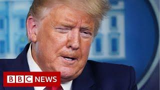 Coronavirus: Trump warns of 'very painful' weeks ahead - BBC News