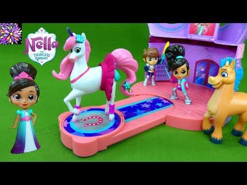 Xxx Mp4 Nella The Princess Knight Toys Trinket 39 S Sparkle Stables Night Horse Princess Toys Girls Toy Videos 3gp Sex
