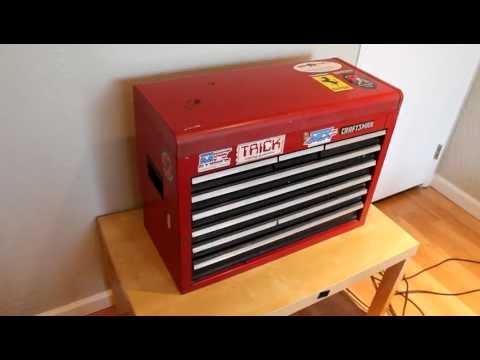 Craftsman Tool Chest, Top Box, Bench Box