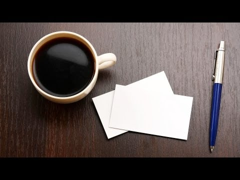 How to Make Your Own Business Cards | Graphic Design