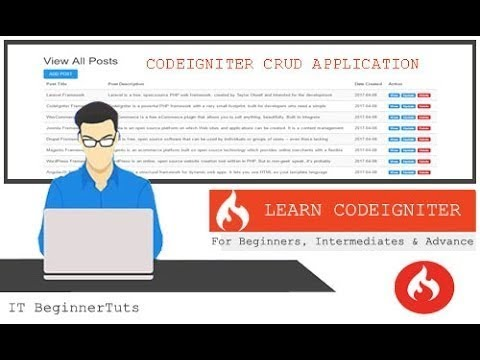 Download Codeigniter CRUD Application with Bootstrap