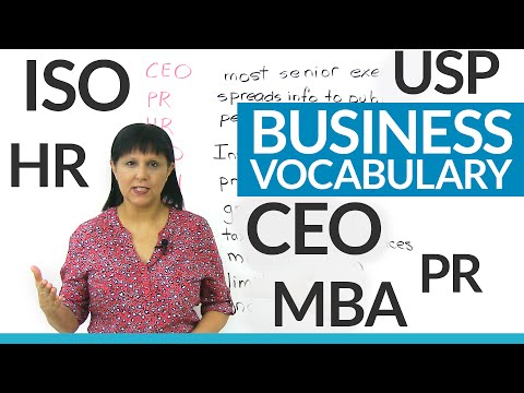 Do you know these business abbreviations? CEO, Inc., Ltd., HR...