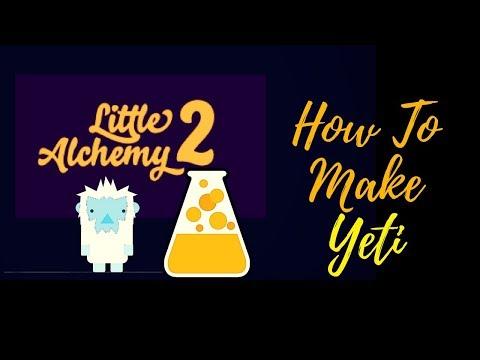 Little Alchemy 2-How To Make Yeti Cheats & Hints