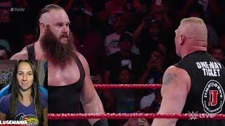 WWE Raw 9/11/17 Braun Strowman is READY