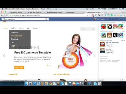 How to add custom tab in a facebook page