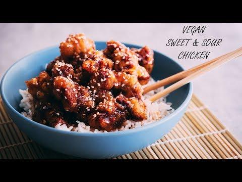 VEGAN SWEET AND SOUR CHICKEN - BEST COMFORT FOOD RECIPE