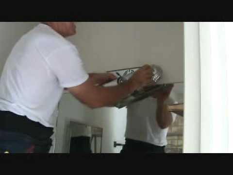 Replacing a bathroom vanity light fixture