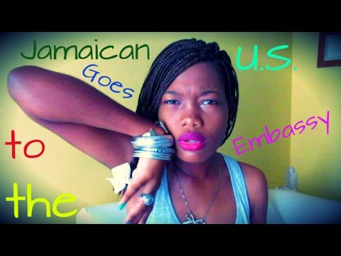 Jamaican Goes to the U.S. Embassy (Patois) | Ladeenly