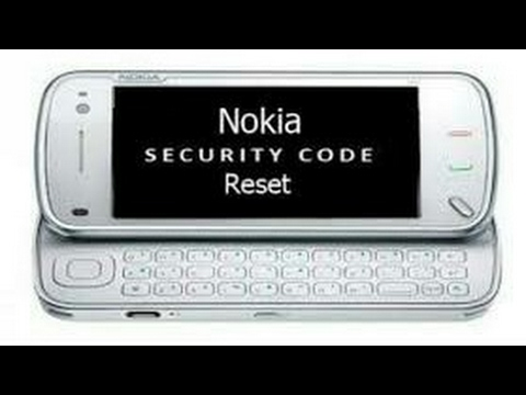 How to unlock lost security codes Nokia mobiles