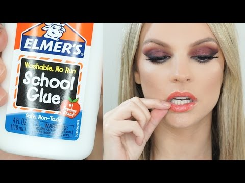 Beauty Hacks Tested | DIY PEEL OFF LIP STAIN|
