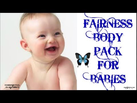 HOW TO MAKE YOUR BABIES SKIN FAIR.....NATURAL HOMEMADE PACK WITH BESAN