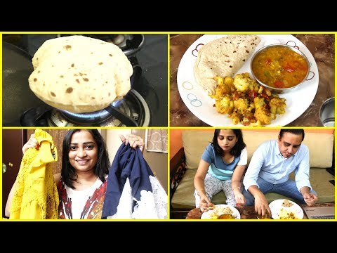 INDIAN MOM REALISTIC AFTERNOON ROUTINE - EVERYDAY LUNCH, OFFICE, DAUGHTER AFTER SCHOOL ROUTINE