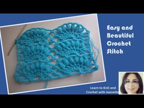 Easy and Beautiful Crochet Stitch