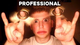 Download PROFESSIONAL FIDGET SPINNER TRICKS (best ever) Video