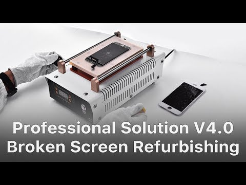 Professional Solution - REWA Mobile Phone Broken LCD Screen Refurbishing Solution V4.0
