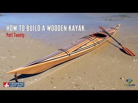 Building a Wooden Kayak - The Final Steps